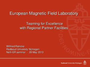European Magnetic Field Laboratory