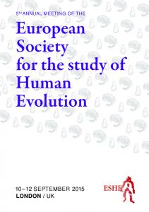 European Society for the study of Human Evolution