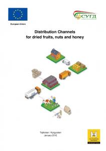 European Union. Distribution Channels for dried fruits, nuts and honey