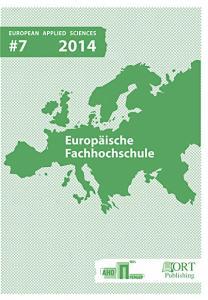 Europäische Fachhochschule European Applied Sciences
