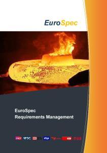 EuroSpec. EuroSpec. Requirements Management