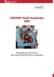 EUSTORY Youth Academies 2007