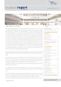 euwax report Ausgabe Dezember 2014