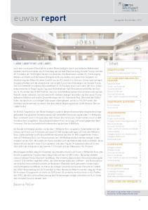euwax report Ausgabe November 2016