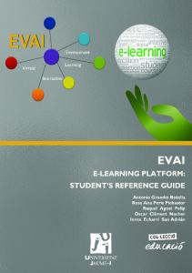 EVAI E-LEARNING PLATFORM: STUDENT'S REFERENCE GUIDE
