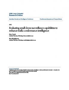 Evaluating small drone surveillance capabilities to enhance traffic conformance intelligence