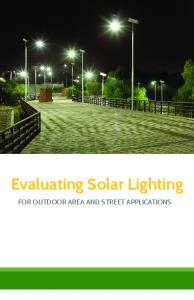 Evaluating Solar Lighting