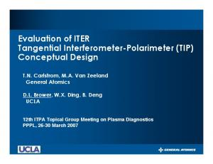 Evaluation of ITER Tangential Interferometer-Polarimeter (TIP) Conceptual Design