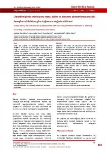 Evaluation of the distribution of exposure to infection and prevention methods in dentistry according to professional experience and clinics