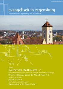 evangelisch in regensburg