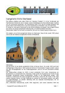 Evangelische Kirche Oberkassel