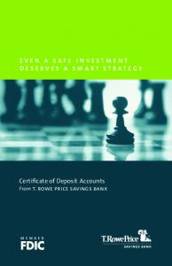 even a safe investment deserves a smart strategy