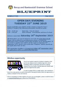 EVENING TUESDAY 23 rd JUNE 2015