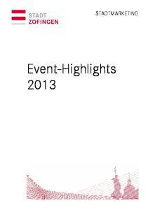 Event-Highlights 2013 STADTMARKETING