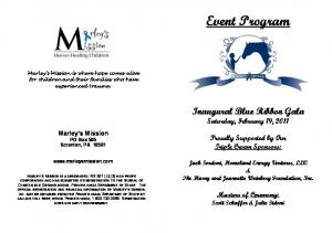 Event Program. Inaugural Blue Ribbon Gala Saturday, February 19, Proudly Supported by Our Triple Crown Sponsors: