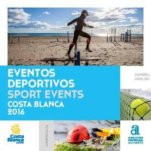 EVENTOS DEPORTIVOS SPORT EVENTS