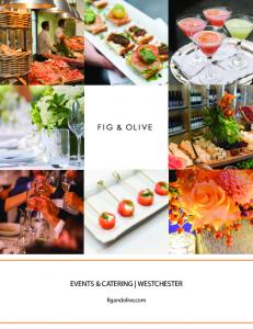 EVENTS & CATERING WESTCHESTER