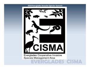 Everglades Cooperative Invasive Species