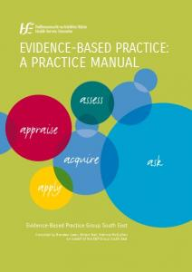 Evidence-Based Practice: A Practice Manual