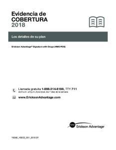 Evidencia de COBERTURA 2018