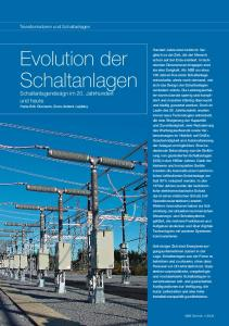 Evolution der Schaltanlagen