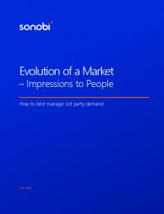 Evolution of a Market Impressions to People