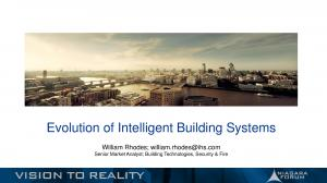 Evolution of Intelligent Building Systems