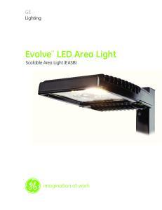 Evolve LED Area Light Scalable Area Light (EASB)