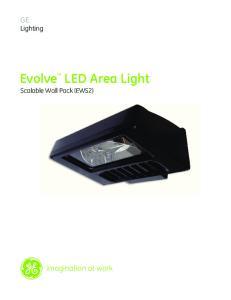 Evolve LED Area Light