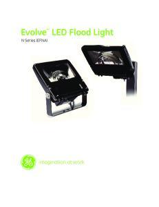 Evolve LED Flood Light N Series (EFNA)