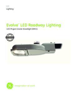 Evolve LED Roadway Lighting