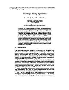 Evolving a Roving Eye for Go