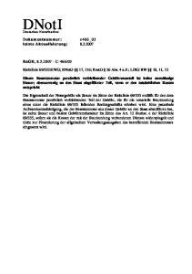 EWG; BNotO 17, 116; KostO 26 Abs. 4 a.f.; LJKG BW 10, 11, 12