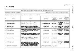 EWG. Monitor Polski Nr Poz. 746