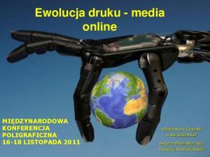 Ewolucja druku - media online