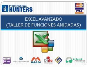 EXCEL AVANZADO (TALLER DE FUNCIONES ANIDADAS)