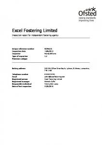 Excel Fostering Limited