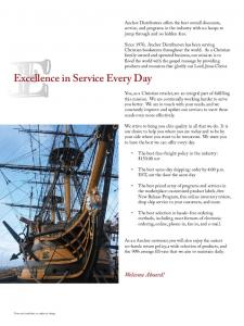 Excellence in Service Every Day