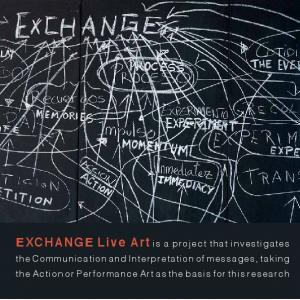EXCHANGE Live Art is a project that investigates
