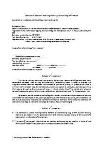 exchange of invoicing information