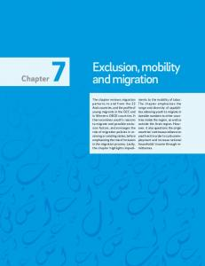 Exclusion, mobility and migration