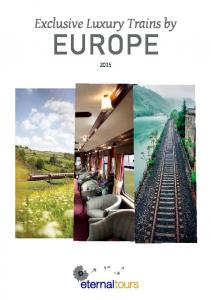 Exclusive Luxury Trains by EUROPE 2015