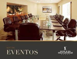Exclusividad en las Salas Hotel & Spa Golf Los Incas