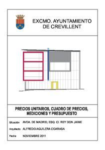 EXCMO. AYUNTAMIENTO DE CREVILLENT