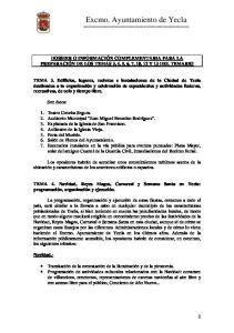 Excmo. Ayuntamiento de Yecla ========================================
