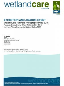 EXHIBITION AND AWARDS EVENT