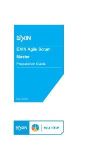 EXIN Agile Scrum Master. Edition