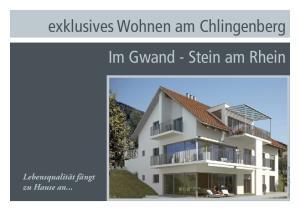 exklusives Wohnen am Chlingenberg Im Gwand - Stein am Rhein