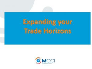 Expanding your Trade Horizons