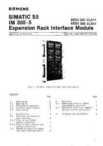 Expansion Rack Interface Module